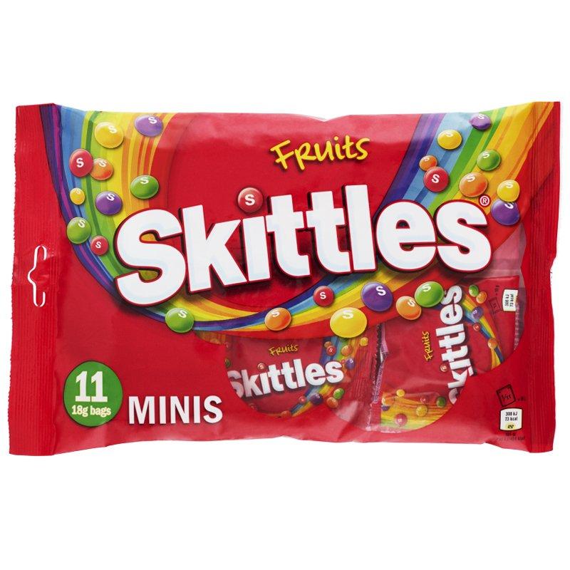 Godis Skittles Minis - 77% rabatt