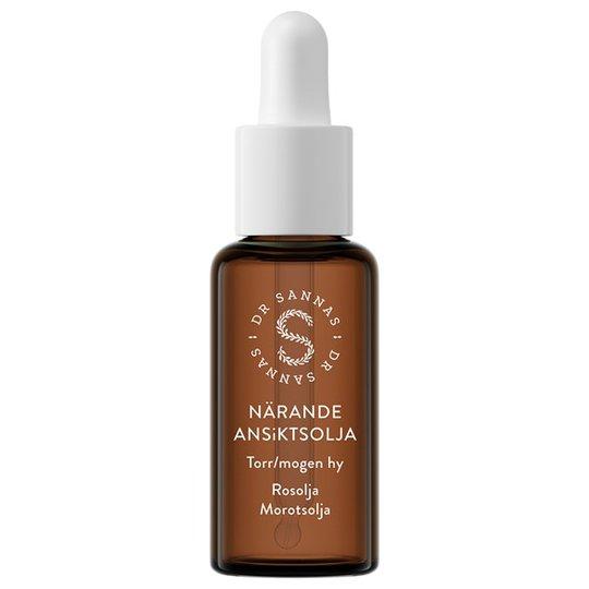 Dr Sannas Närande Ansiktsolja för torr/mogen hy, 30 ml