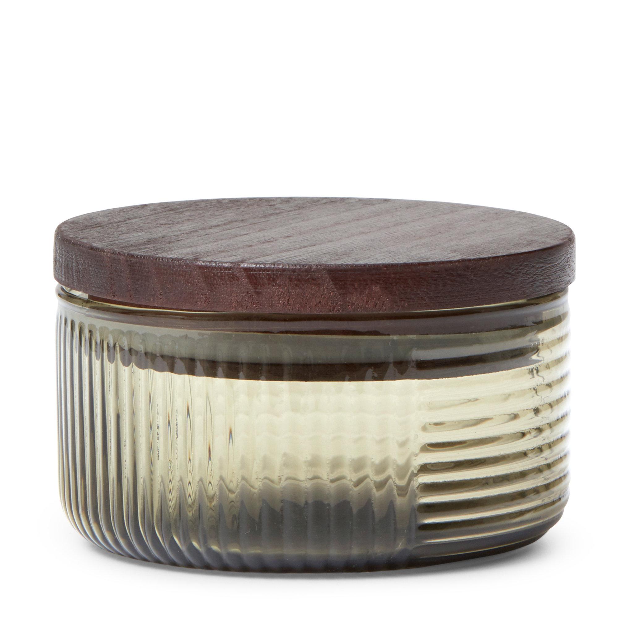 Förvaringsburk i glas, 10x10 cm