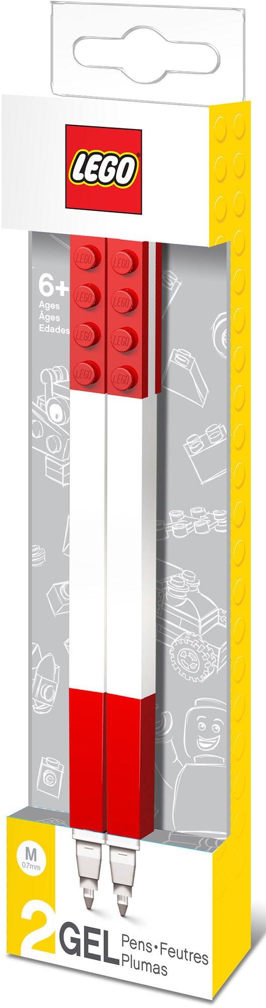 LEGO Geelikynät 2 kpl Punainen