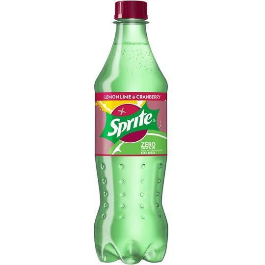 """Läsk """"Sprite Lemon Lime & Cranberry Zero"""" 500ml - 50% rabatt"""