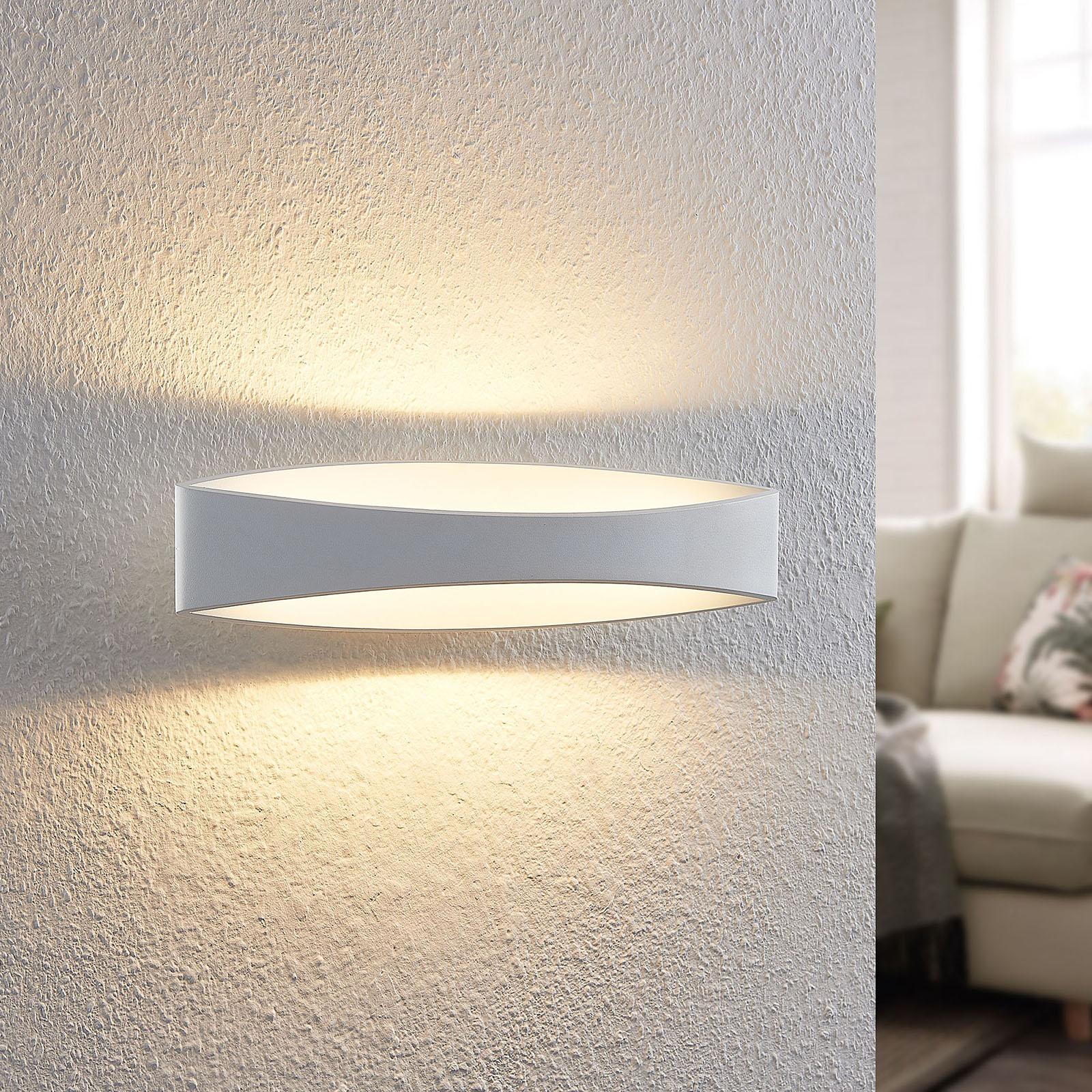 Arcchio Jelle -LED-seinävalaisin 43,5 cm valkoinen