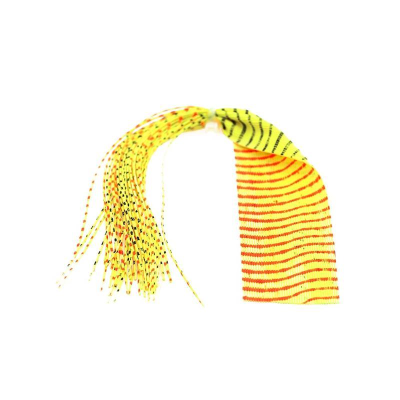 Barred Round Rubberlegs Yellow/Red/Black