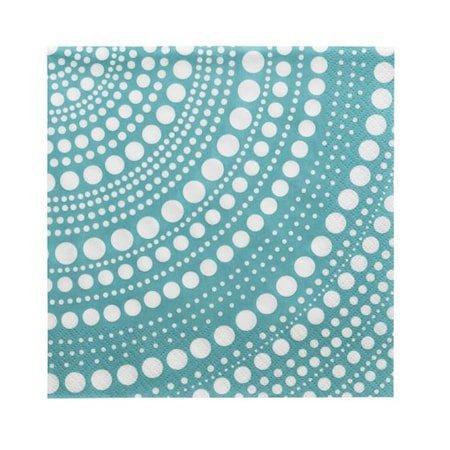 Kastehelmi serviett havblå 33x33 cm