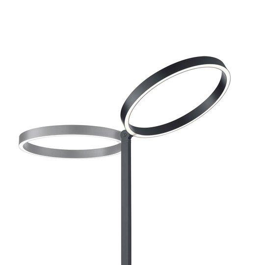 LED-gulvlampe Lana svart med bevegelseskontroll