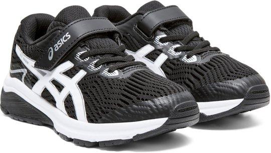 Asics GT-1000 8 PS Sneaker, Black/White 27