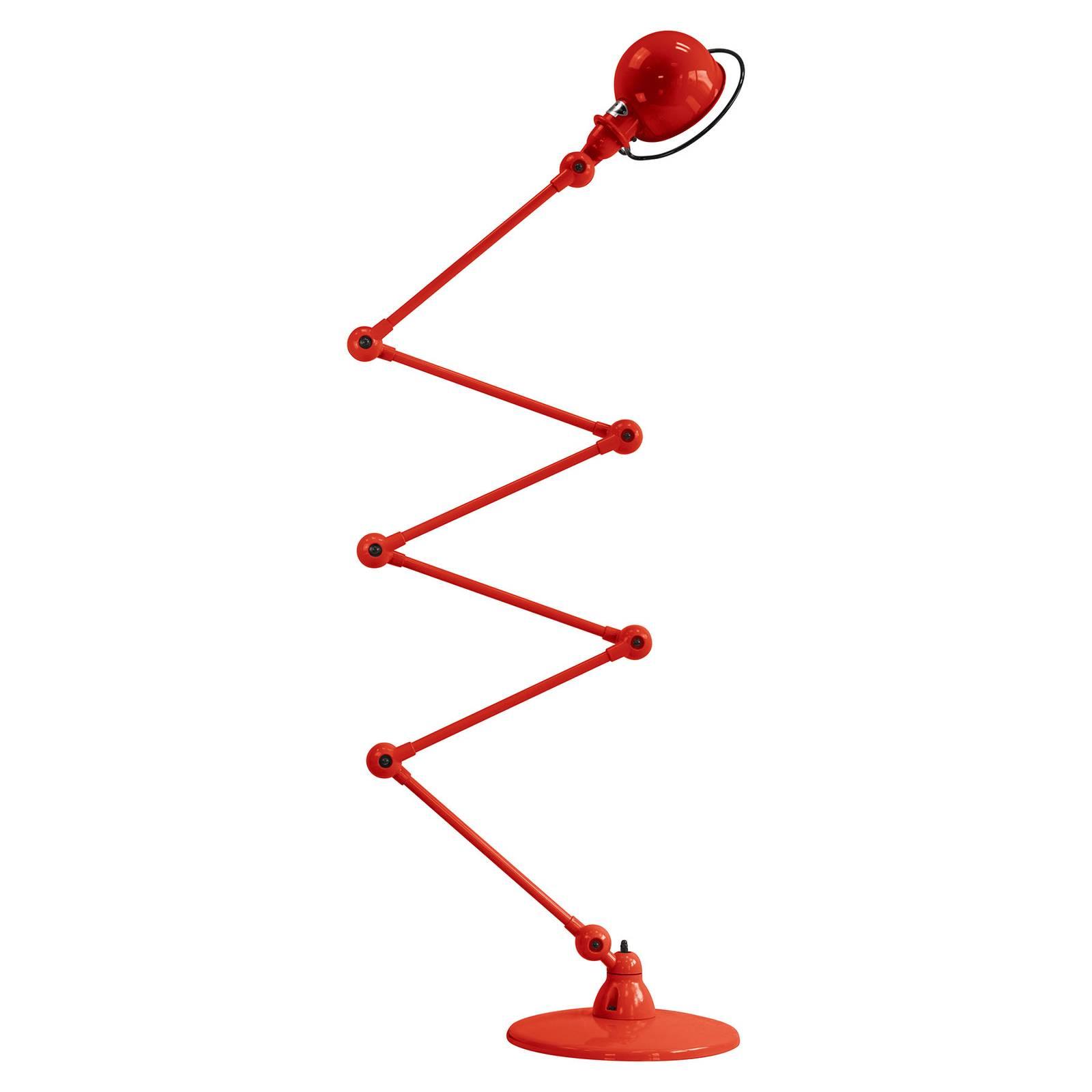 Jieldé Loft D9406 -lattiavalo 6 x 40 cm, punainen