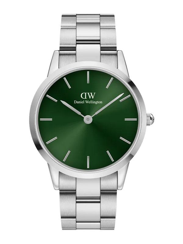 Daniel Wellington Iconic Link Emerald 40mm ADW00100427 - Herrklocka