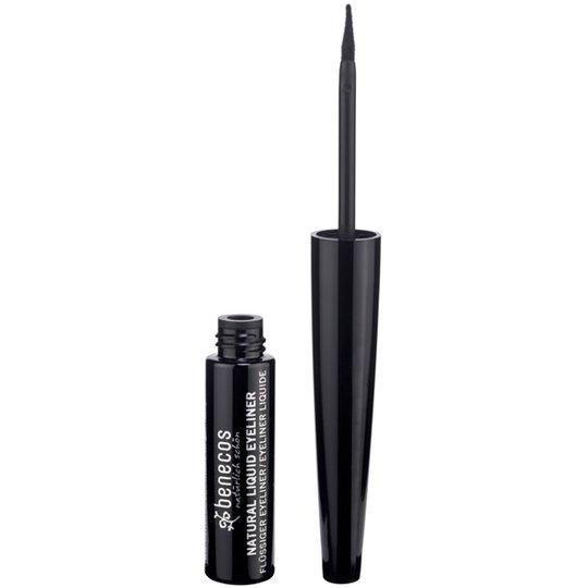 Benecos Natural Liquid Eyeliner - Black, 3 ml