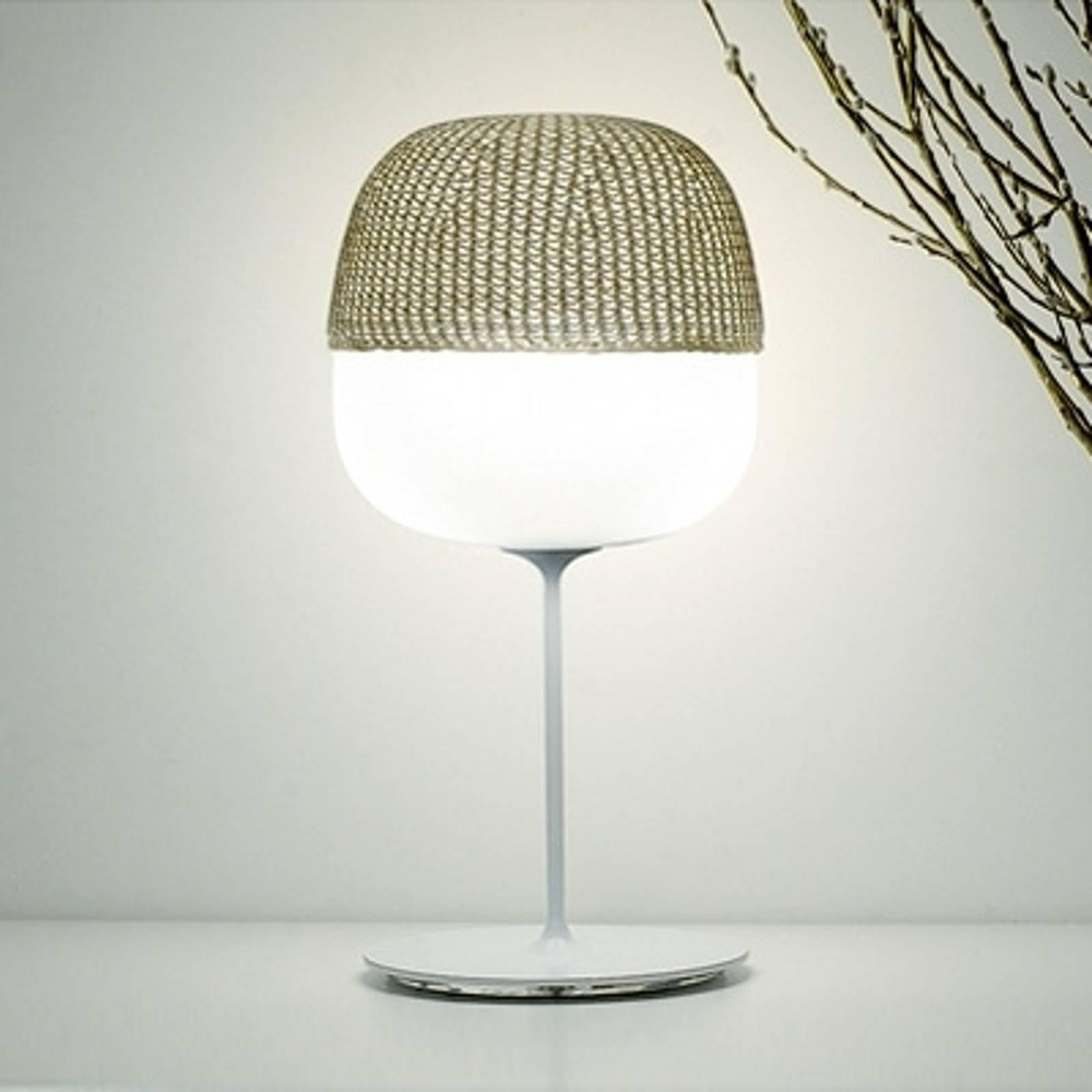 Afra - bordlampe med strølys, 63 cm