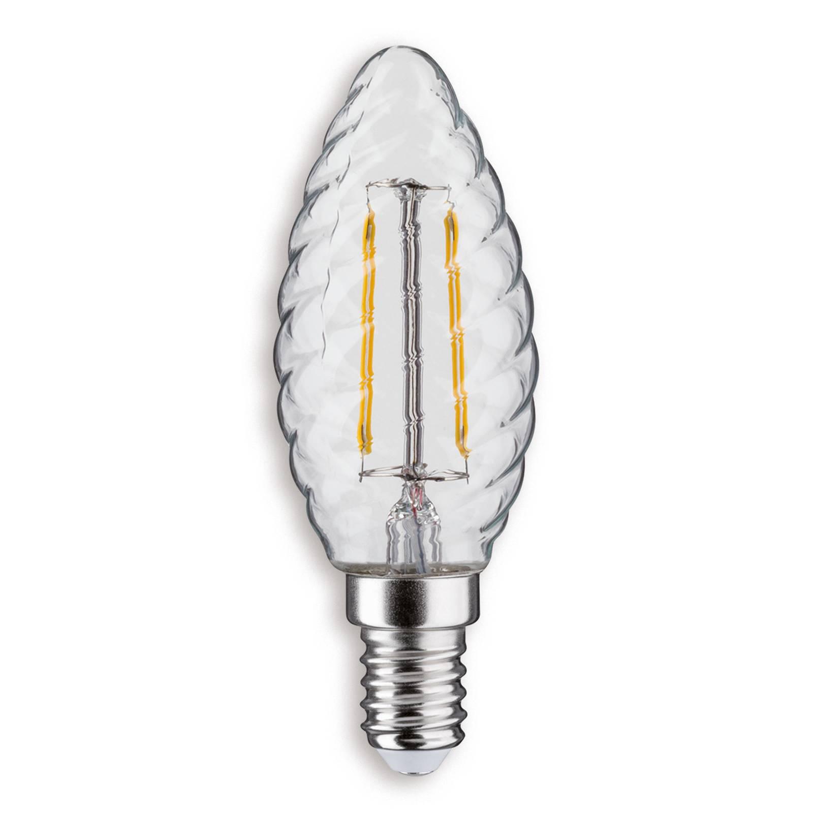 E14 2,5 W 827 LED-kynttilälamppu kierteinen