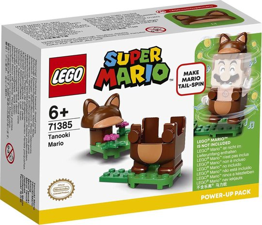 LEGO Super Mario 71385 Power-Up-pakken Tanooki Mario