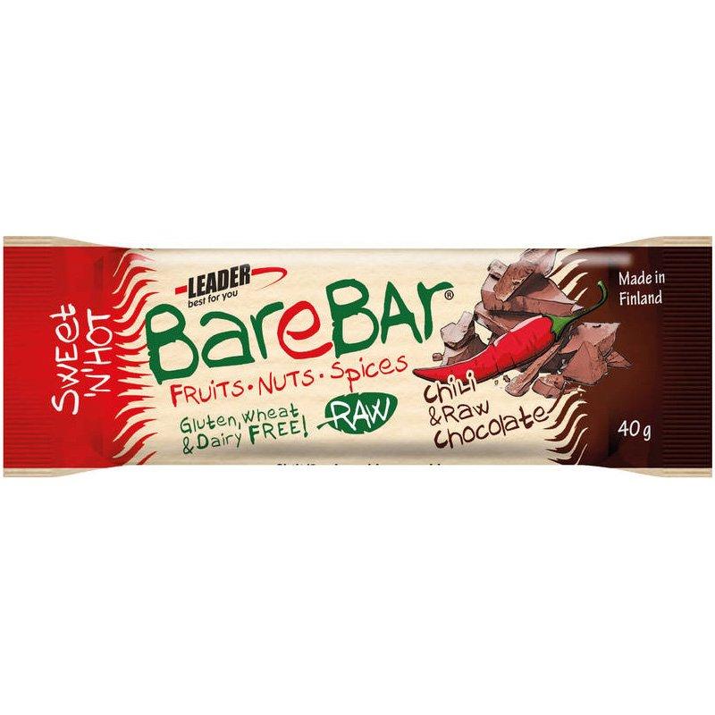 Barebar 40g Chili&Raw Cocoa - 67% alennus