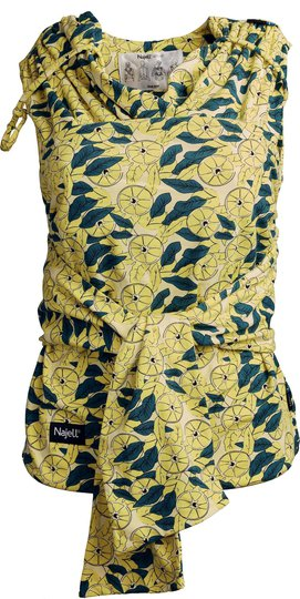 Najell Wrap Bæresjal, Limone Yellow S/M