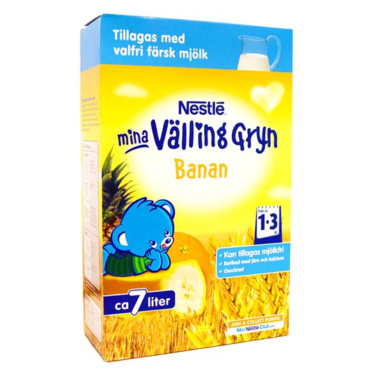 Vällinggryn Banan - 82% rabatt