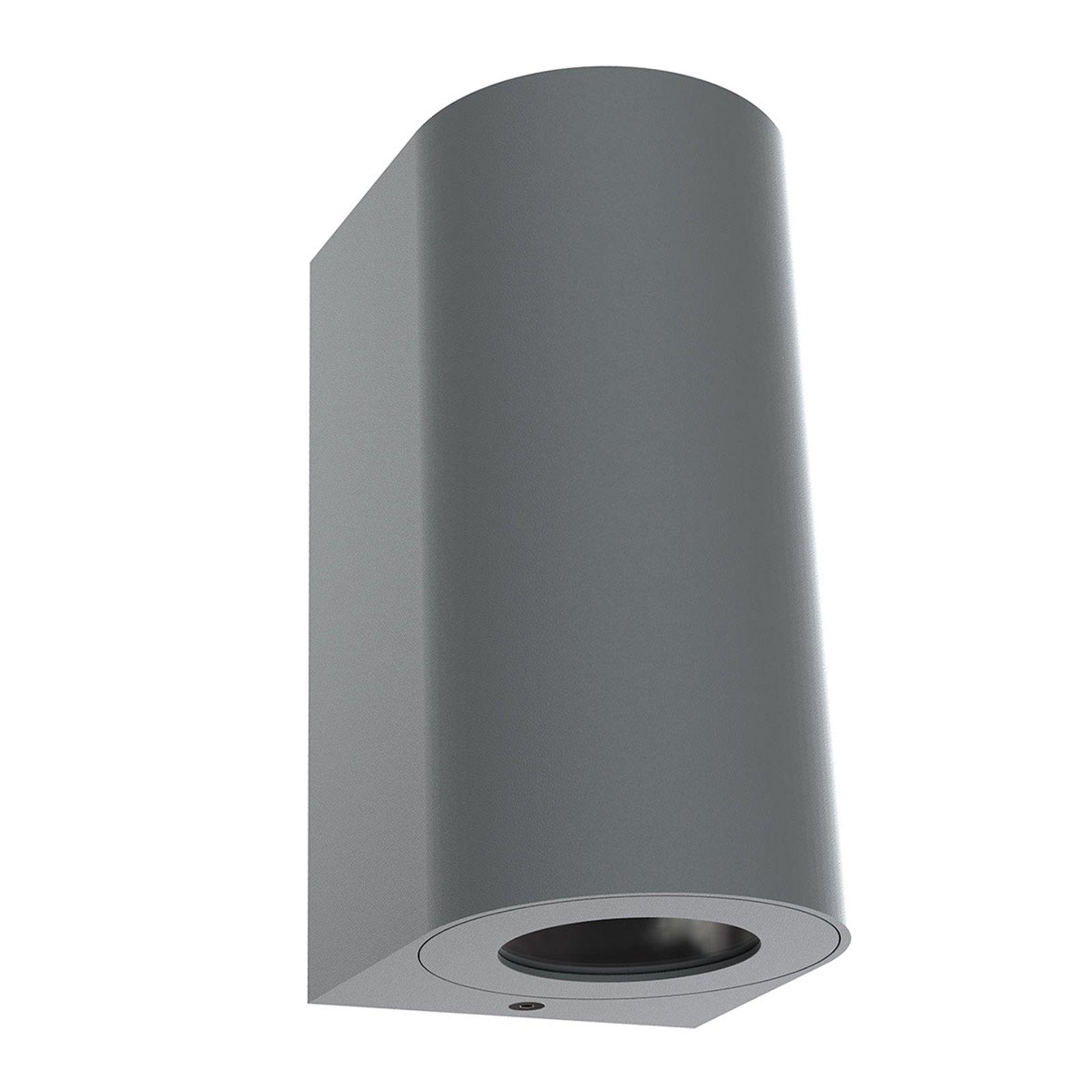 Utendørs vegglampe Canto Maxi 2, grå