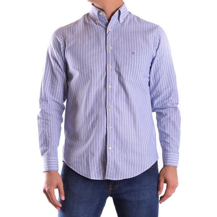 Gant Men's Shirt Blue 161044 - blue S
