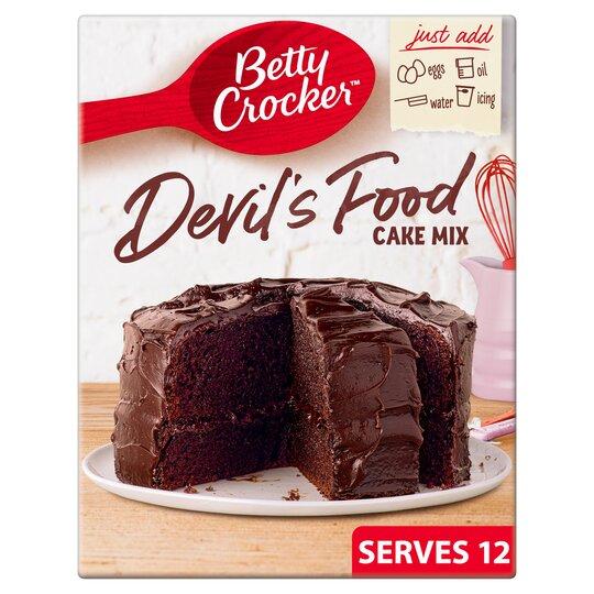 Betty Crocker Devils Food Cake 425g EU