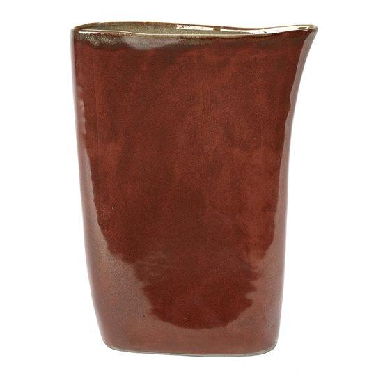 Serax - Serax Terres de Rêves Vas Keramik hög 33 cm Roströd/Grå