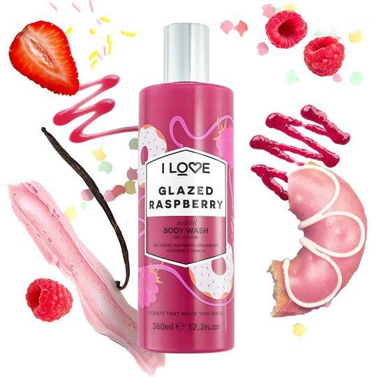 Glazed Raspberry, 360 ml I love… Kylpy & Suihku