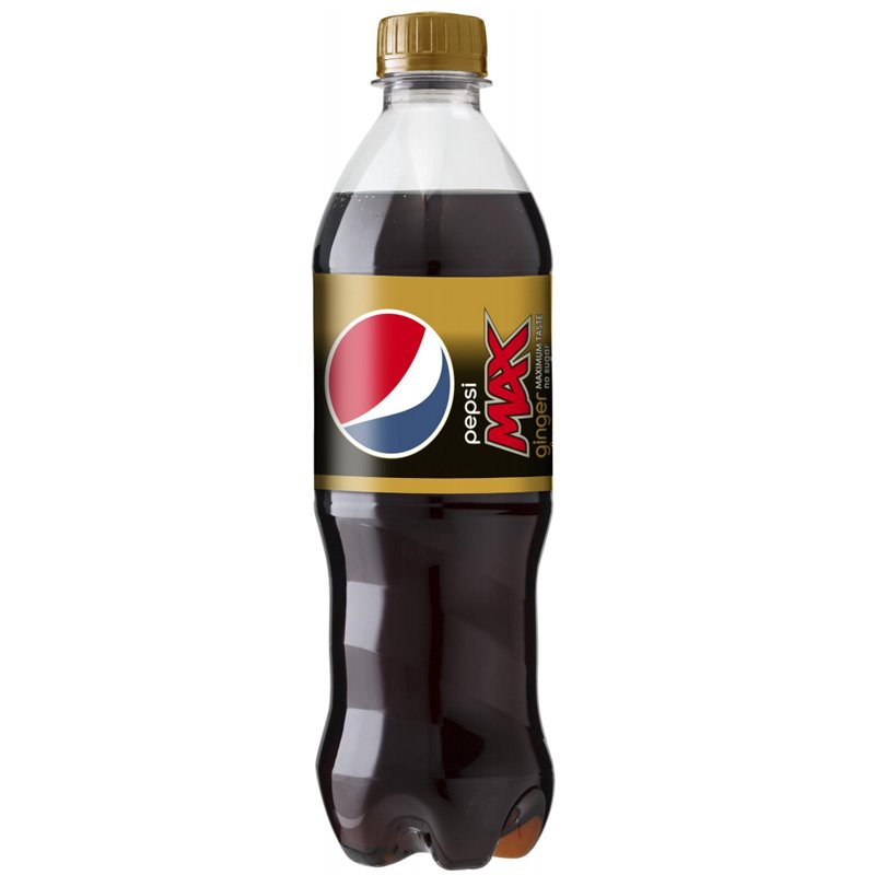 "Läsk ""Pepsi Max Ginger"" 500ml - 46% rabatt"
