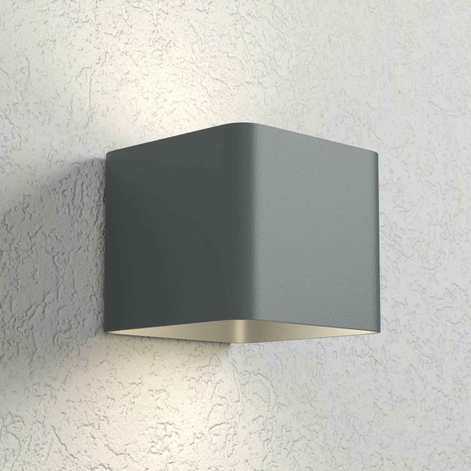 Antrasittfarget LED-vegglampe Dodd