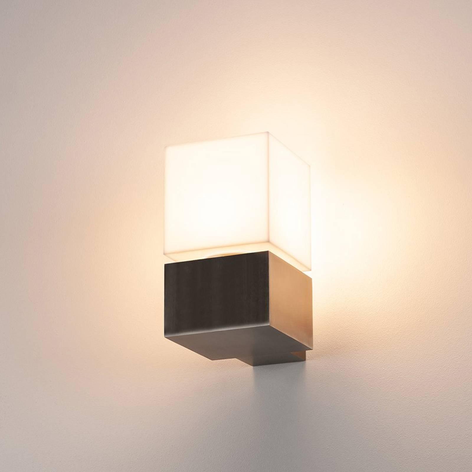 SLV Square -LED-ulkoseinälamppu, himmennettävä