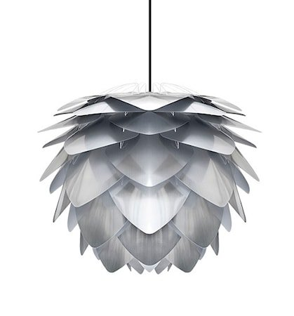 Silvia mini lampe – Grå
