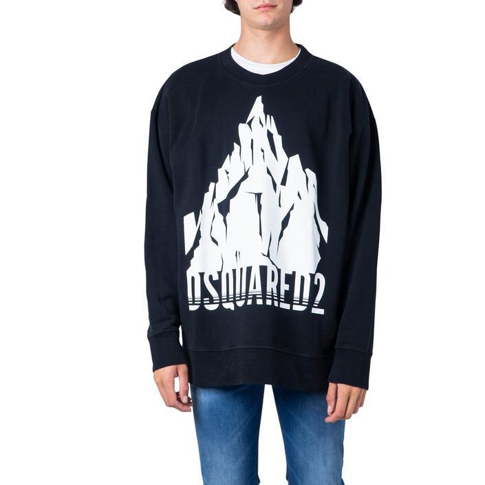 Dsquared Men's Sweatshirts Black 181227 - black L