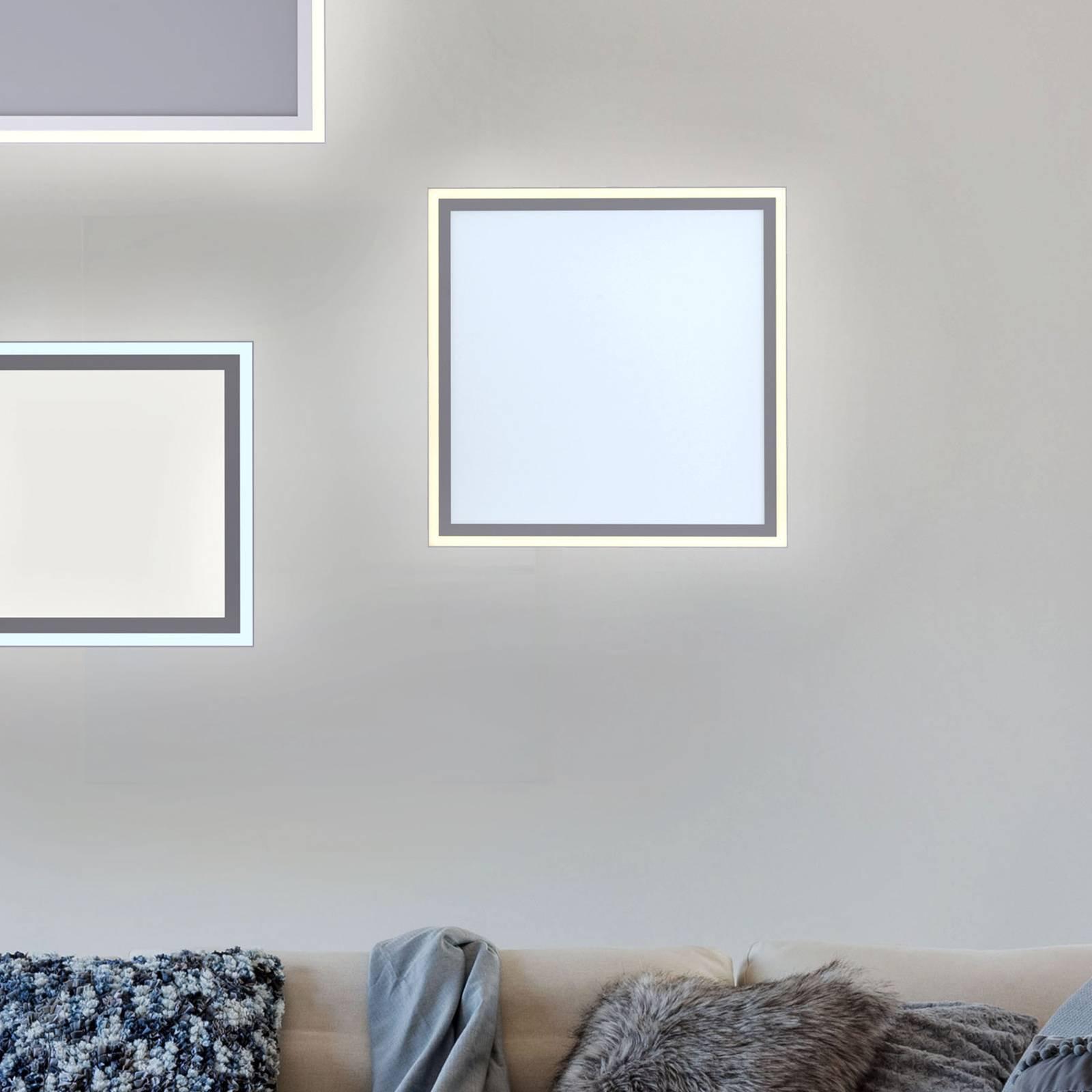 Edging LED-taklampe, tunable white, 46 x 46 cm
