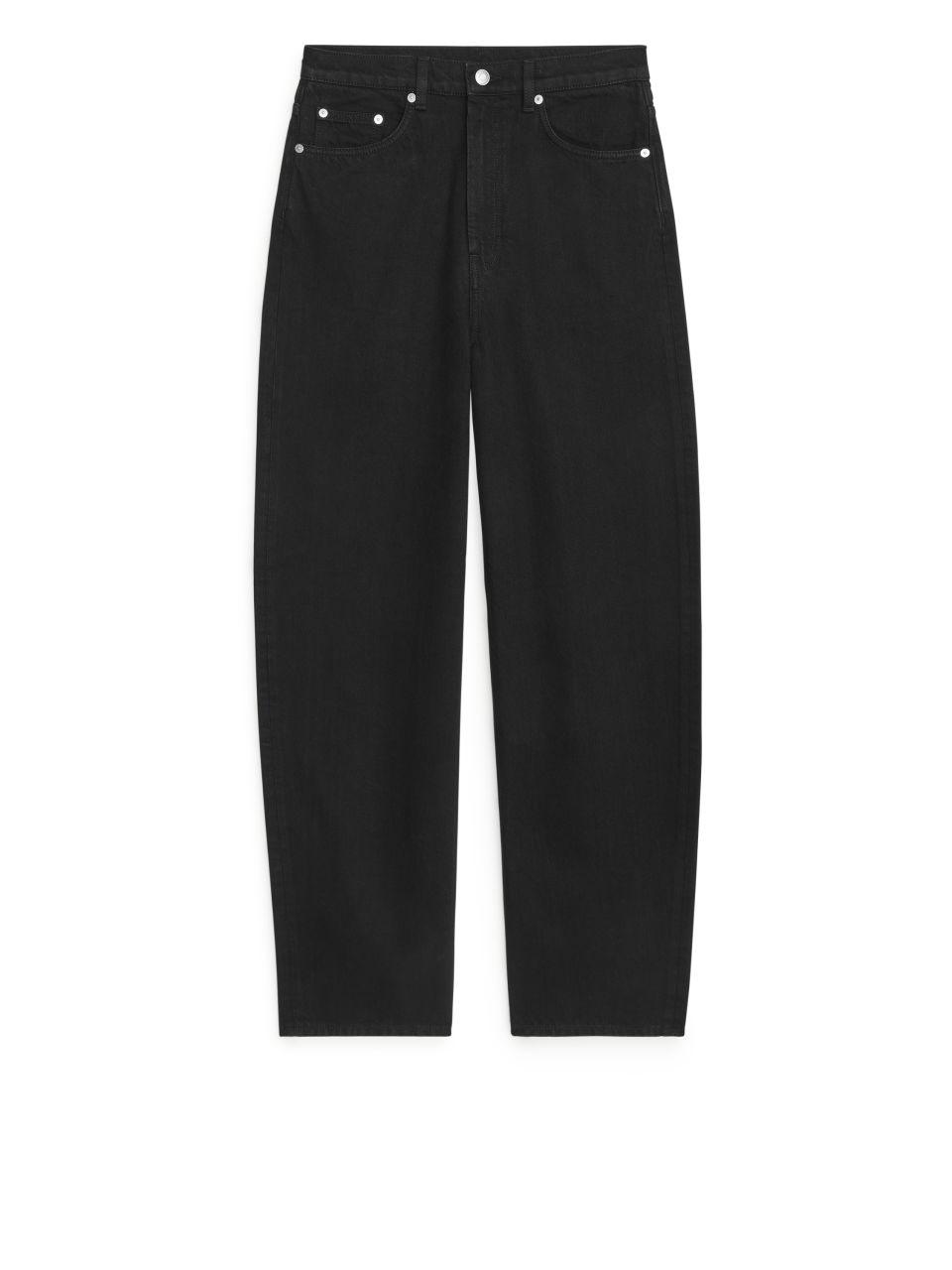 BARREL LEG Jeans - Black