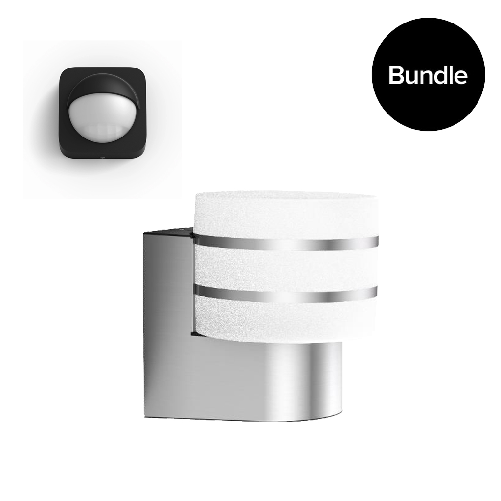zz Philips Hue - Tuar Outdoor Wall Light Warm White + Outdoor Sensor - Bundle