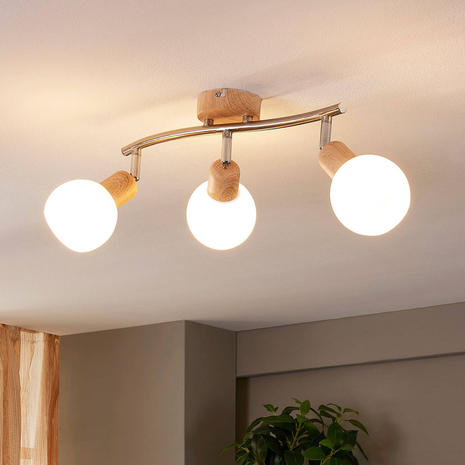 Kaunis kattovalaisin Svenka, E14-LED-kanta