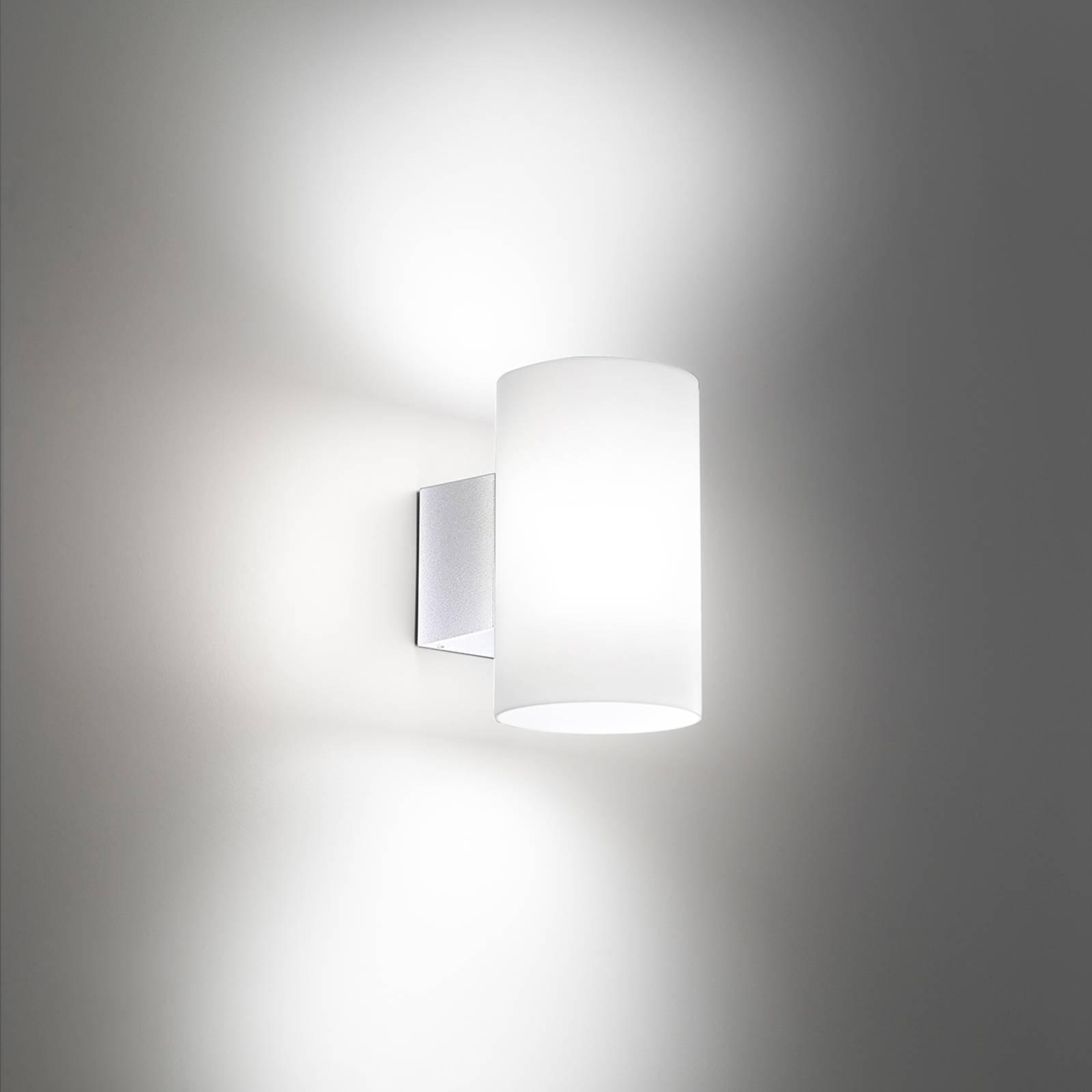 Utendørs LED-vegglampe Bianca i hvit