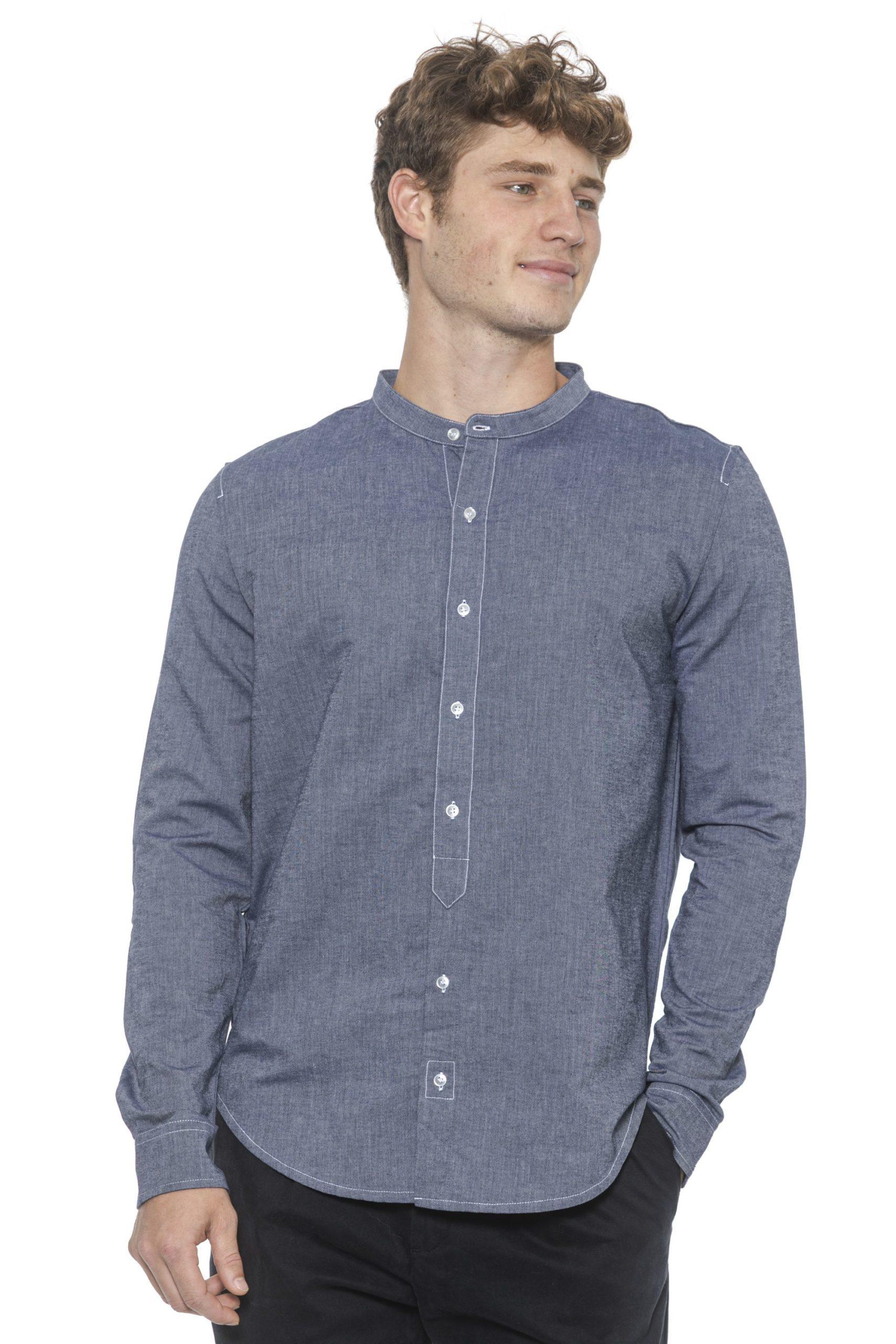 Alpha Studio Women's Denim Shirt Blue AL1394930 - IT50 | L