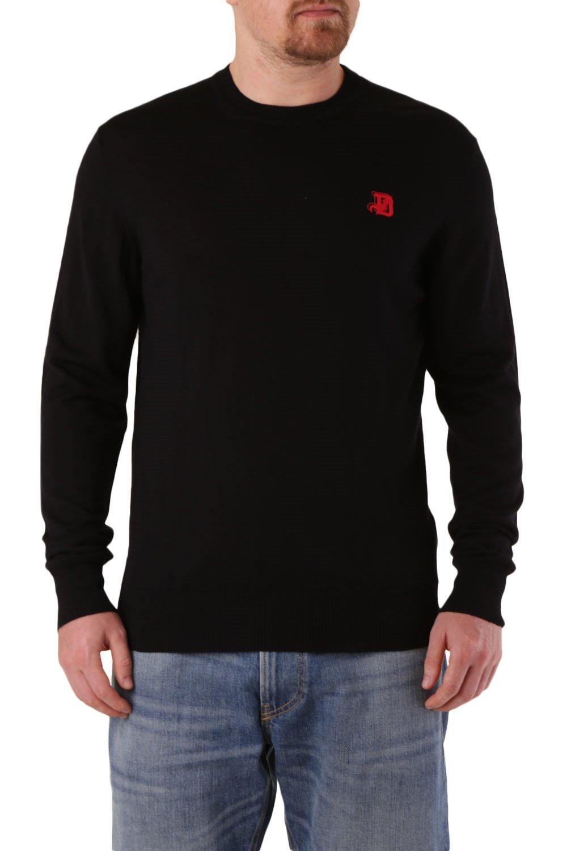 Diesel Men's Sweater Various Colours 312574 - black-2 S