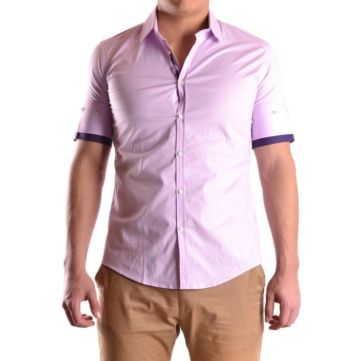 Daniele Alessandrini Men's Shirt Pink 163087 - pink 40