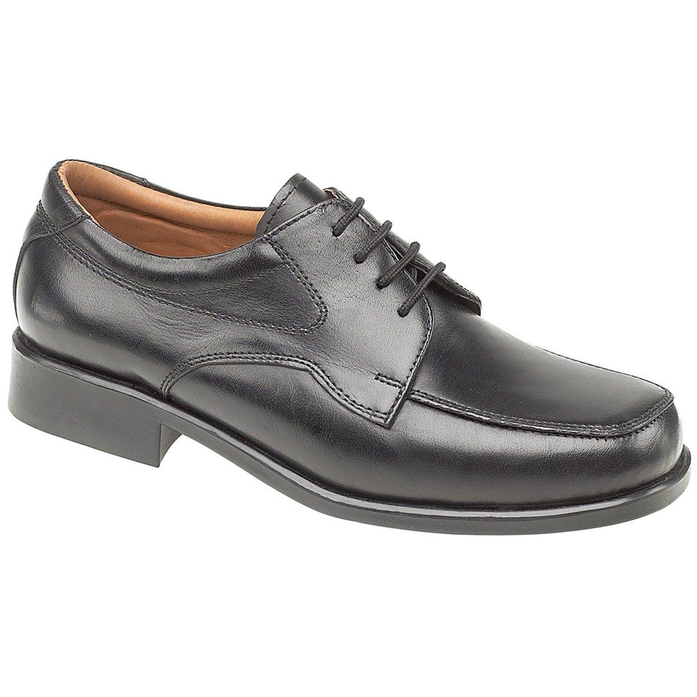 Amblers Men's Birmingham Lace Gibson Derby Shoe Black 11533 - Black 6