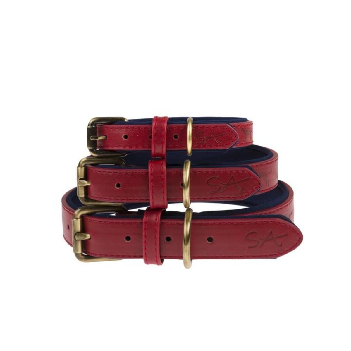 Sophie Allport   Red Dog Collar Large