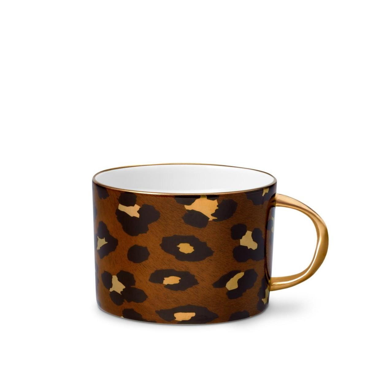 L'Objet I Leopard Tea Cup