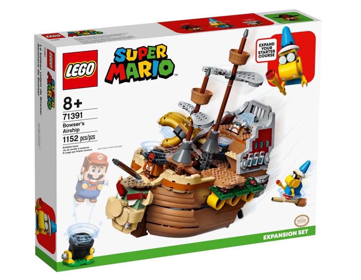 LEGO Super Mario - Bowser Airship Expansion Kit (71391)