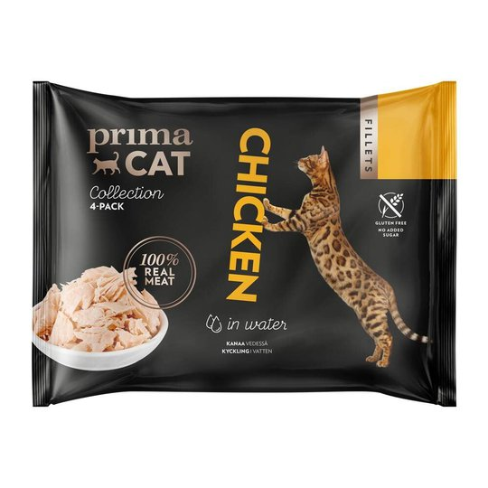 PrimaCat Chicken in Water (4x50 g)
