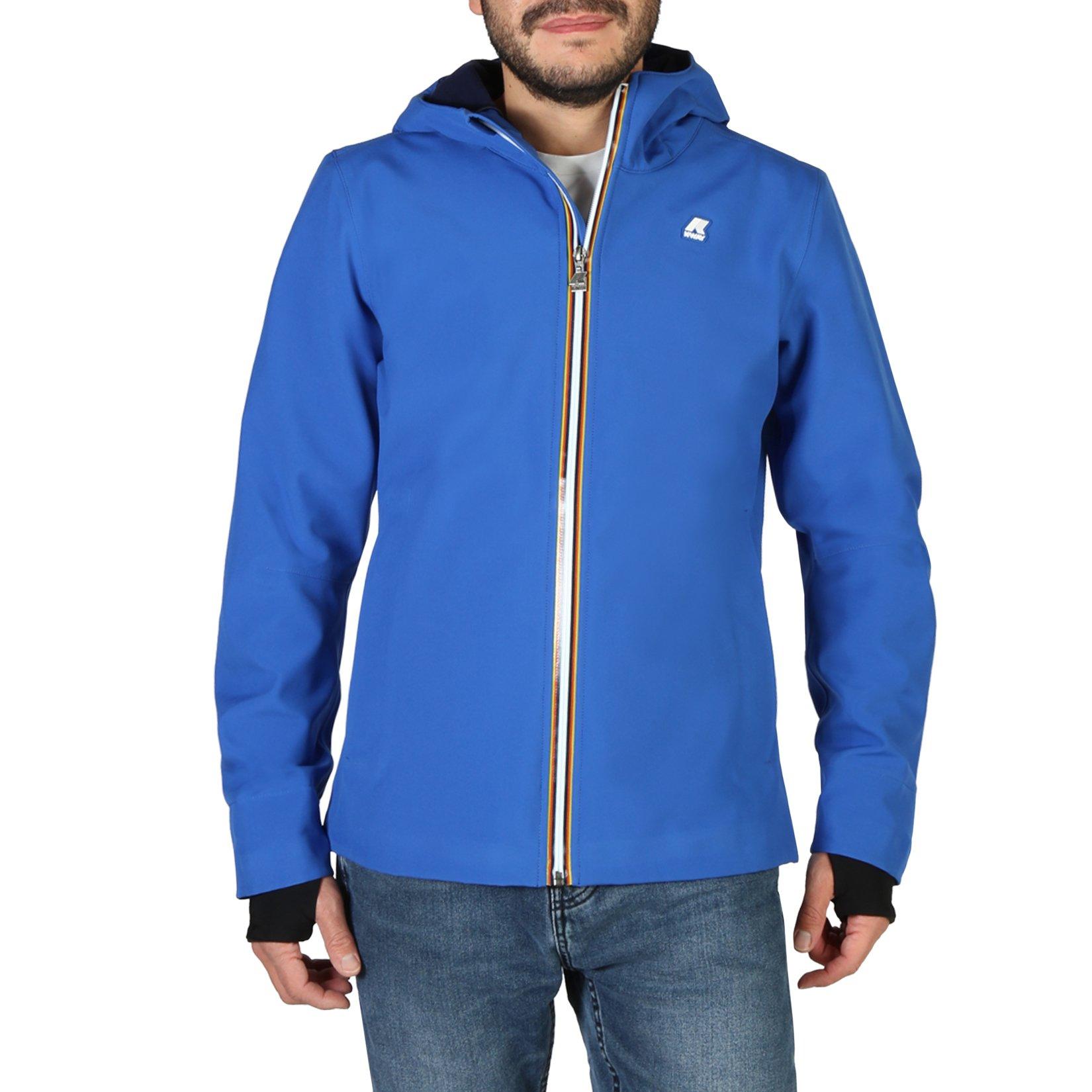 K-Way Men's Jacket Various Colours JACK-BONDED-K008J00 - blue M