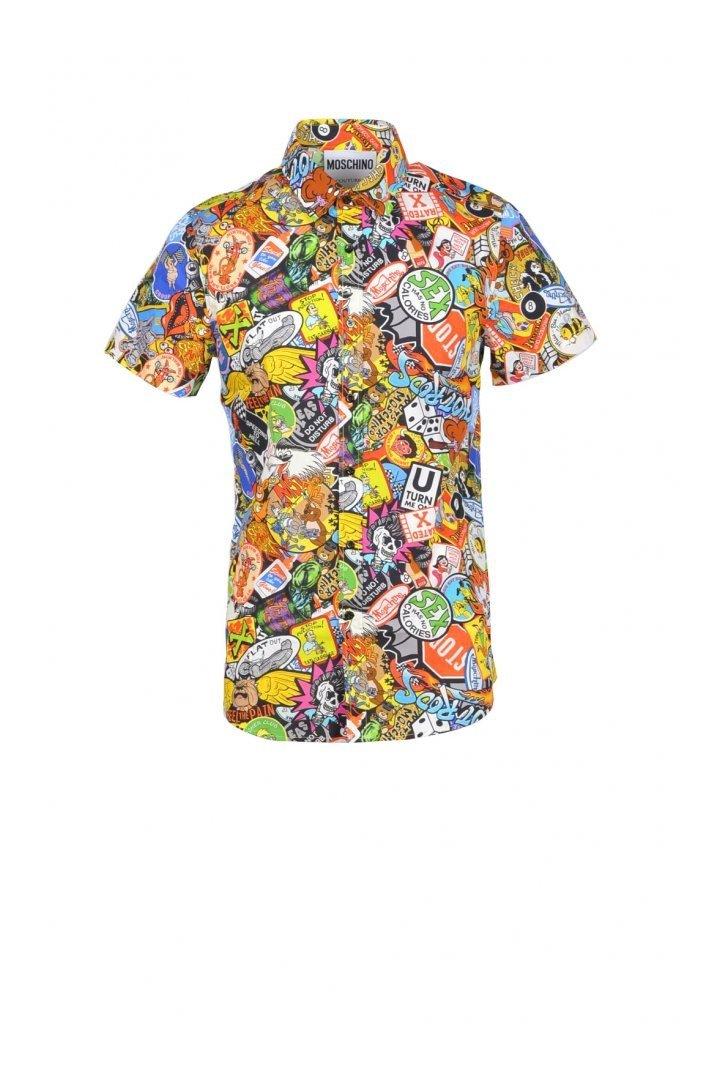 Boutique Moschino Women's Shirt 171725 - multicolor-1 37