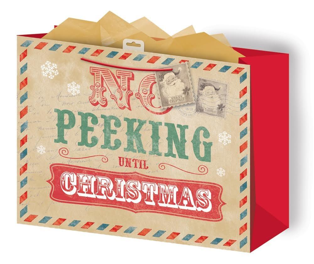 Presentpåse Vintage Christmas