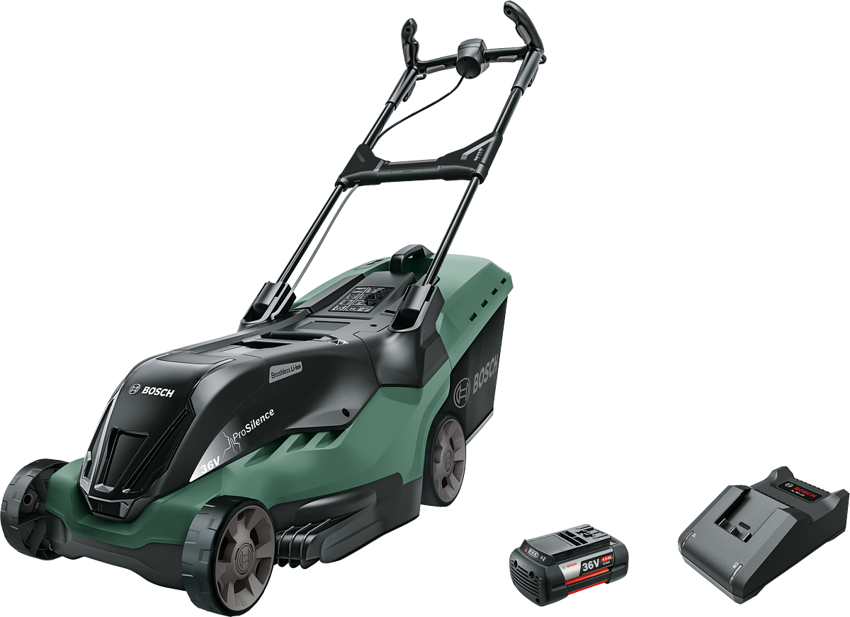 Bosch - Cordless Lawnmower AdvancedRotak 36-650 (Battery & Charger Included)