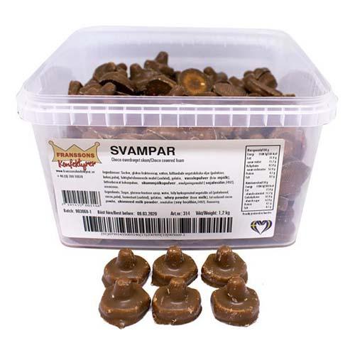 Chokladsvamp Lösvikt i Burk - 1.2 kg