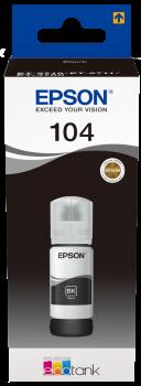 Epson - T104 Black EcoTank Black ink Bottle - 65ml