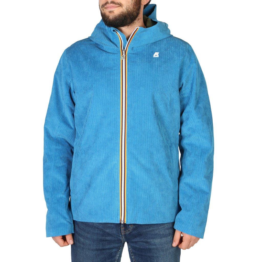 K-Way Men's Jacket Blue K008I70 - blue M