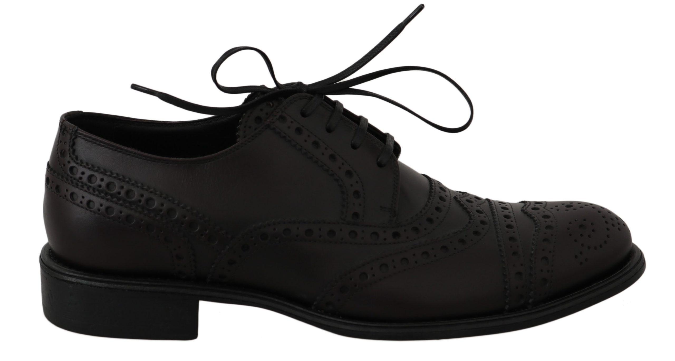 Dolce & Gabbana Men's Shoes Black MV2367 - EU39/US6